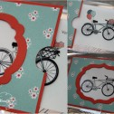 Stampin up - Pedal Presents - Grußkarte - Magic Card - Collage