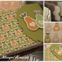 Stampin Up - Mit Liebe gemacht -Minialbum Marmeladenrezepte Collage