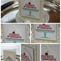 Stampin up - Geburtstagskarte - Suesse Geburtstagsgruesse - A Cherry on Top - Distressed Dots Collage