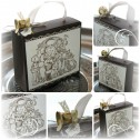 Stampin Up - Weihnachten - Verpackung - Embossing - Wondrous Wishes Collage