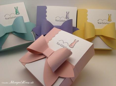 Stampin Up - Stempelherz - Ostern - Kartenbox - Ein schoenes Osterfest - Box vom Osterhasten 02