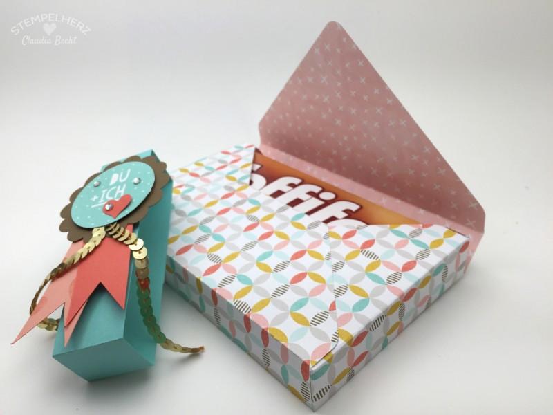 Stampin Up - Stempelherz - Verpackung - Box - Sale-a-bration - Inspiration - Stempelset Wir beide - Envelope-Punchboard - Toffifee-Verpackung Du + Ich 05