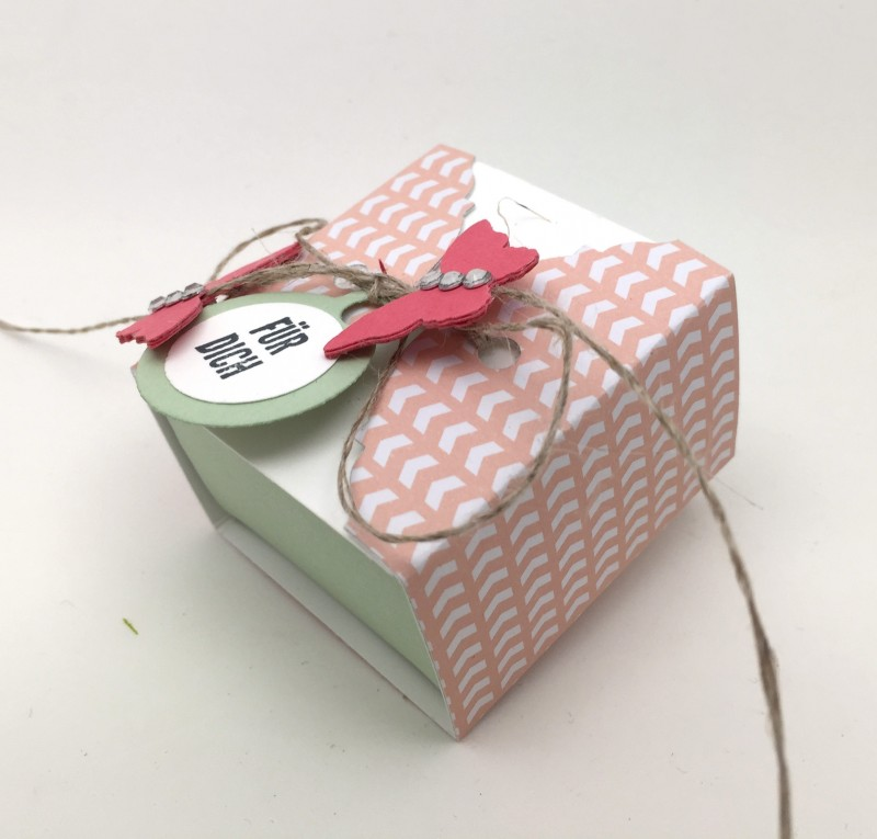 Stampin Up-Stempelherz-Videoanleitung-Verpackung-Box-Schachtel-Mini-Pralinenschachtel-Pralinenbox-Honigsuesse Gruesse-Mini-Pralinenschachteln 04