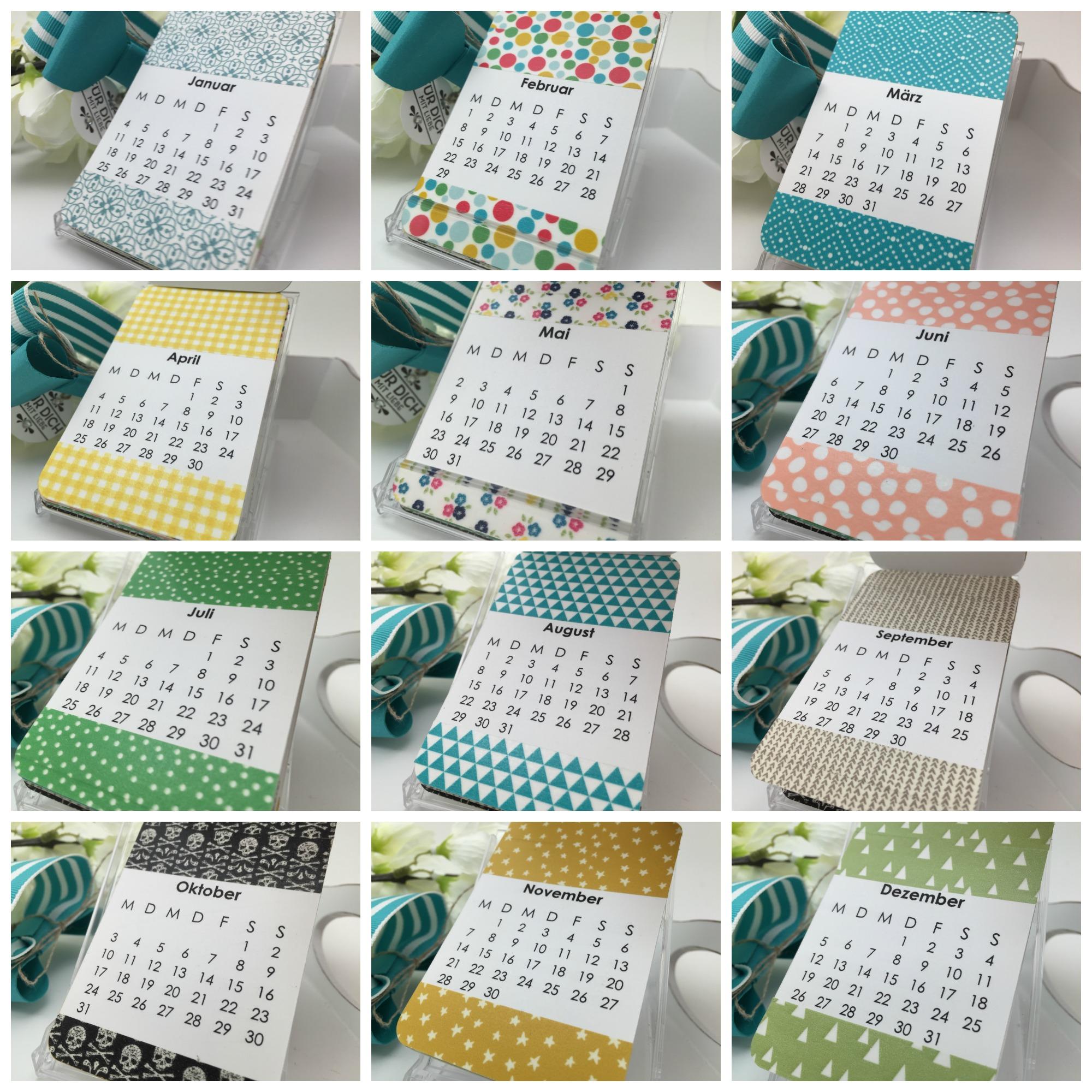 videoanleitung f r den visitenkarten kalender stampin 39 up. Black Bedroom Furniture Sets. Home Design Ideas