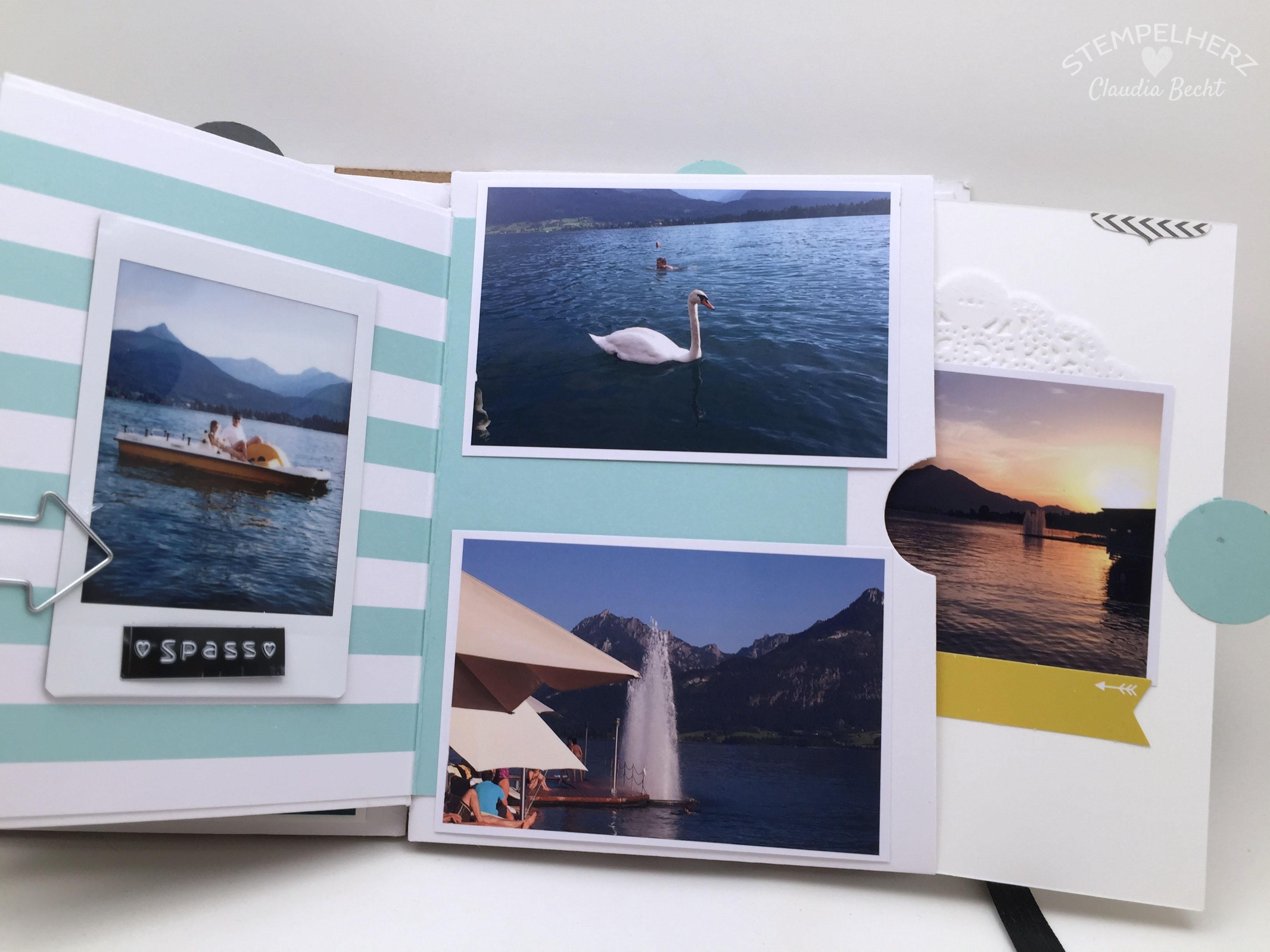 Stampin Up-Stempelherz-Album-Minibook-Minialbum Wolfgangsee 16