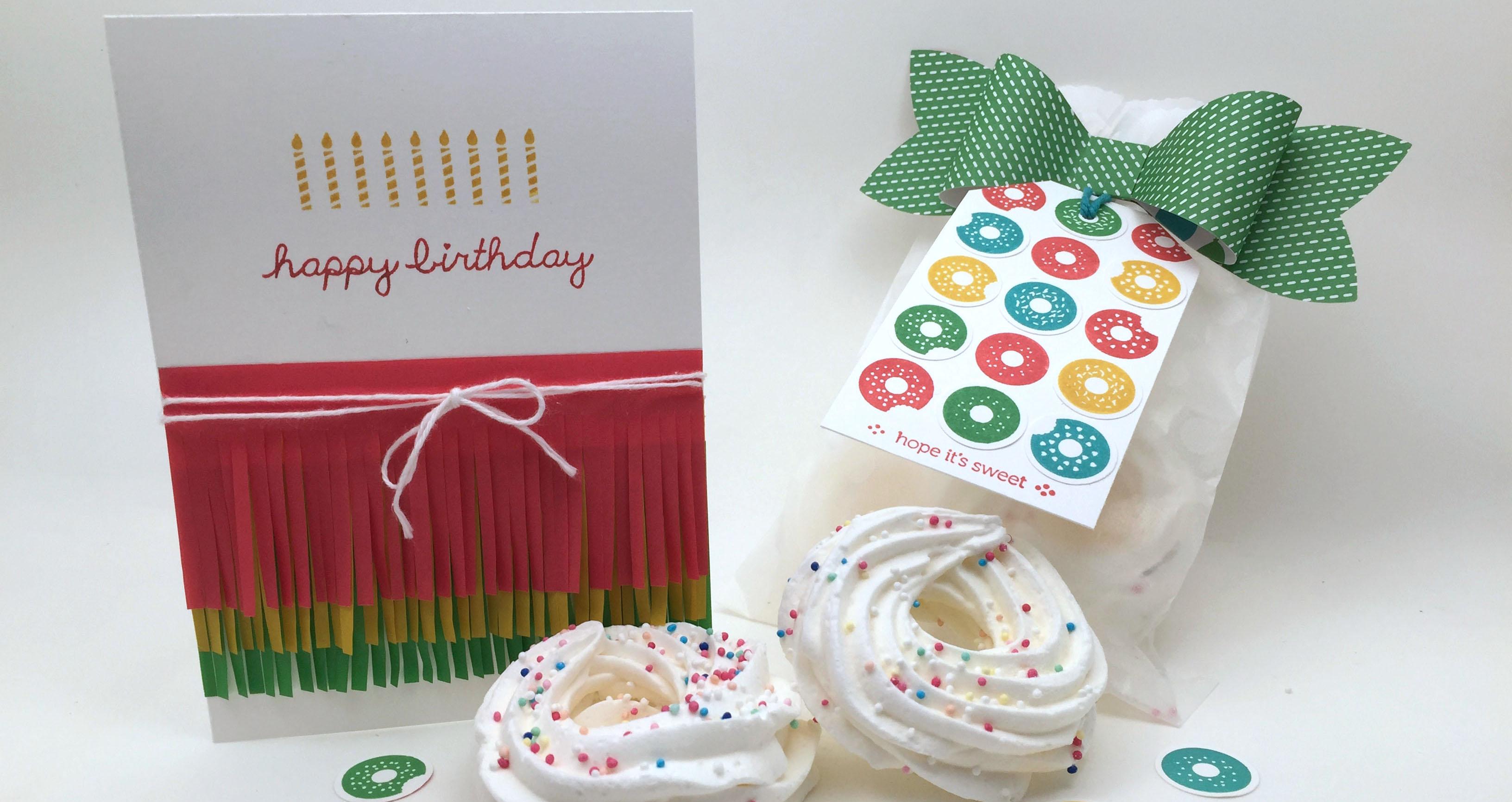 Stampin Up-Stempelherz-Geburtstag-Verpackung-Bag-Geburtstagskarte-Zeig es am Montag Geburtstagsset Sprinkles on Top Beitragsbild 01