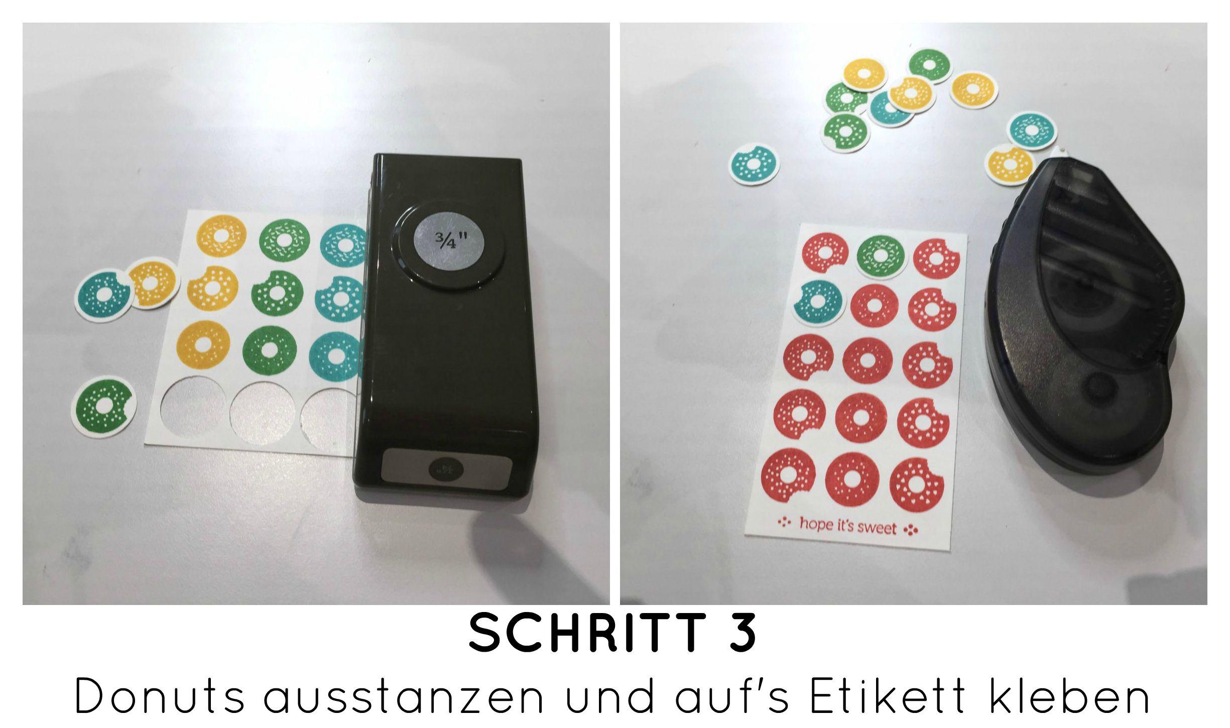 Stampin Up-Stempelherz-Geburtstag-Verpackung-Bag-Geburtstagskarte-Zeig es am Montag Geburtstagsset Sprinkles on Top - Schritt 03b