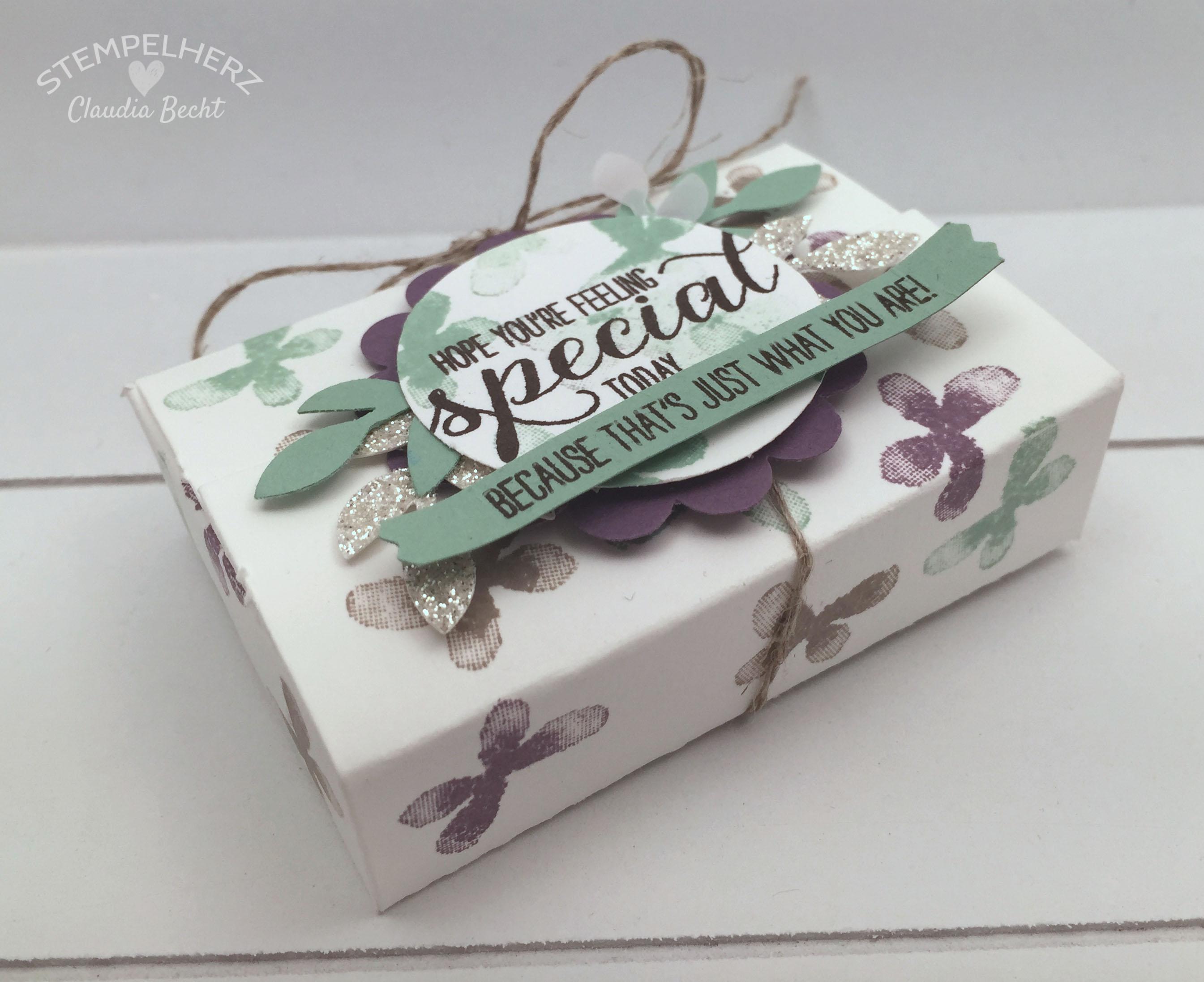Stampin Up-Stempelherz-Verpackung-Box-Geschenk-Garden in Bloom-Geschenkverpackung Garden in Bloom 02b