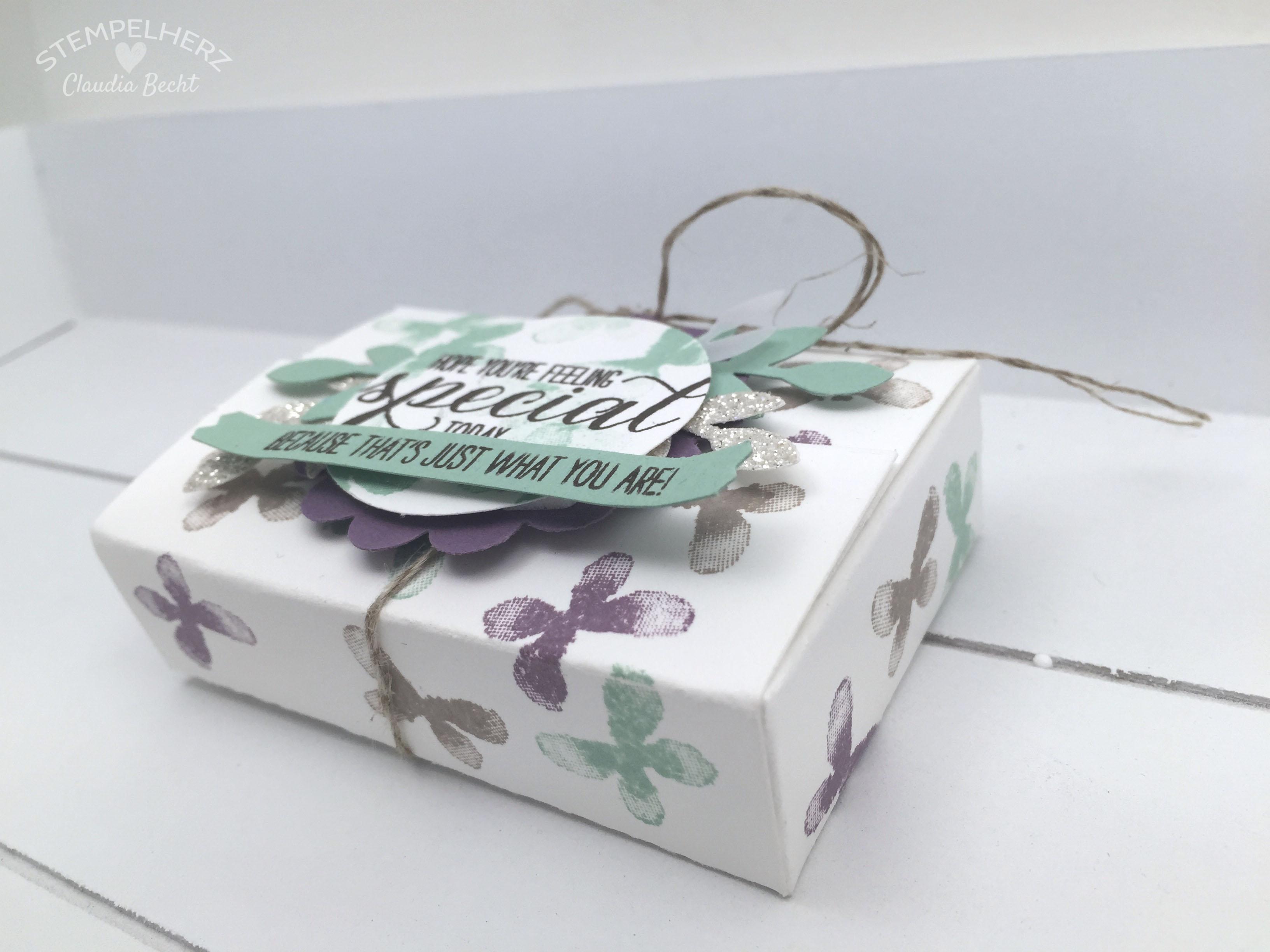 Stampin Up-Stempelherz-Verpackung-Box-Geschenk-Garden in Bloom-Geschenkverpackung Garden in Bloom 05b
