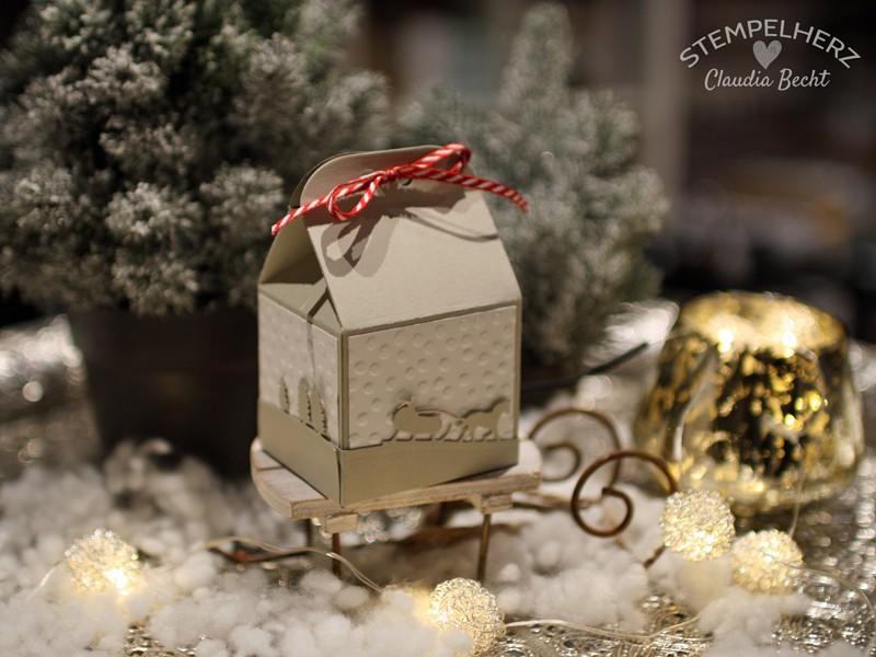 Stampin Up-Stempelherz-Weihnachtskarte-Weihnachtsverpackung-Edgelits Schlittenfahrt-Karte und Verpackung Schlittenfahrt 05