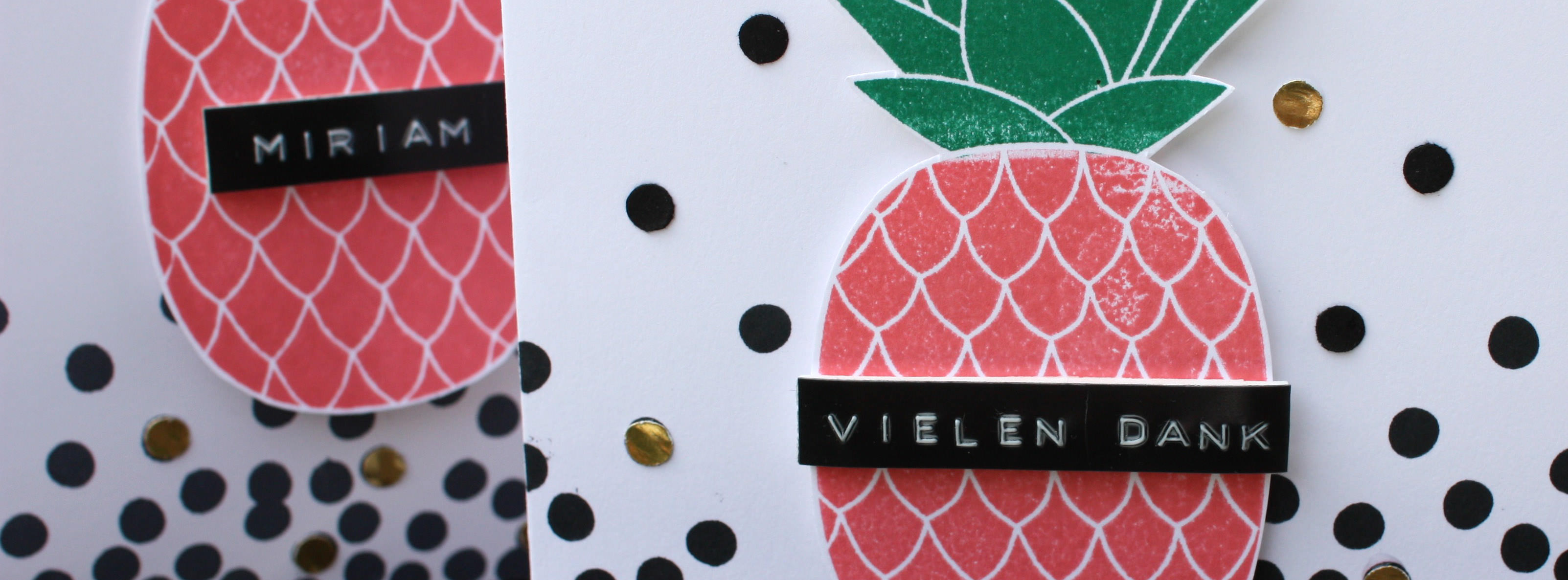 Stampin Up - Stempelherz - Inspiration-Art-Lieblingsstempelset - Stempelset Pineapple - Vielen Dank ans Team Beitragsbild 01