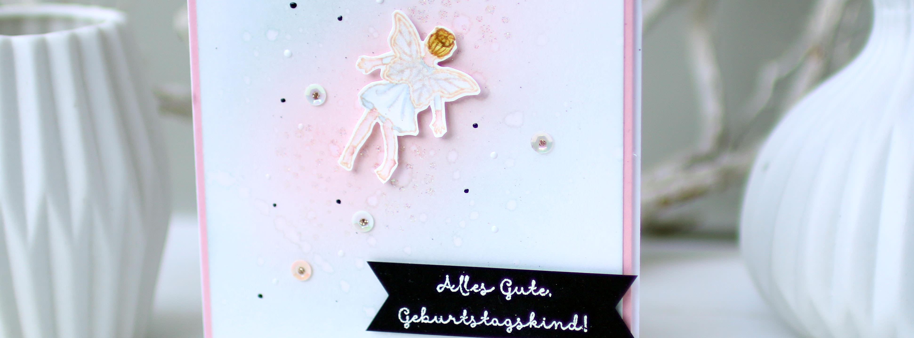 Stampin Up - Stempelherz - Geburtstagskarte - Stempelset Einfach zauberhaft - zauberhafte Geburtstagskarte Beitragsbild