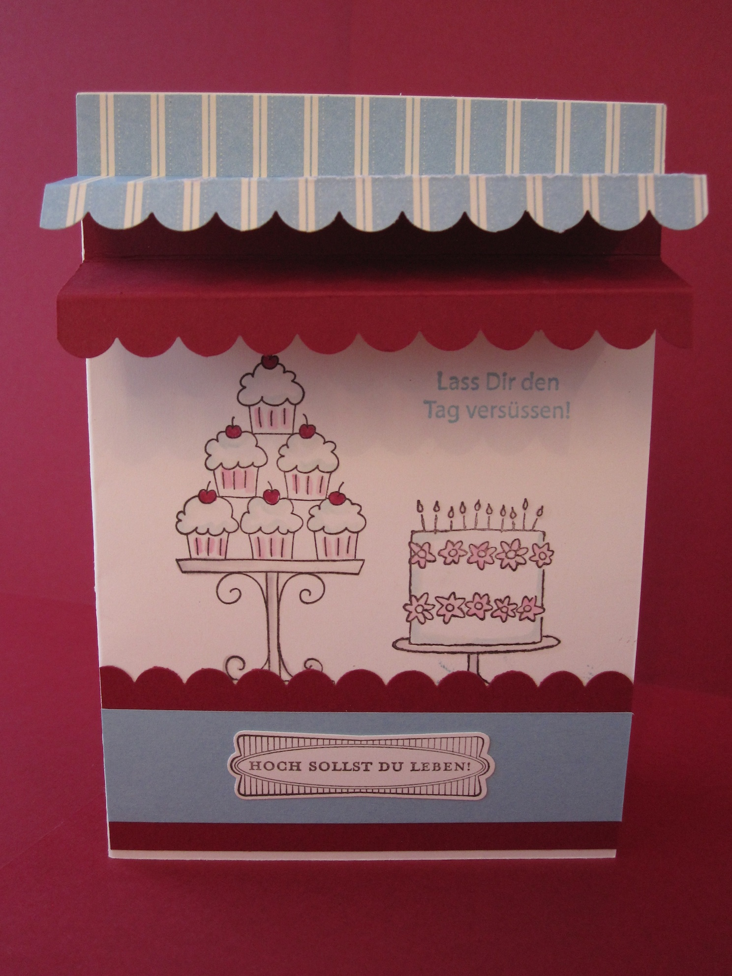 Geburtstagskarte für eine liebe Freundin