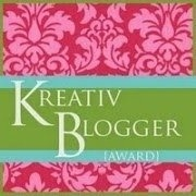 Kreativ Blogger Award!!! Wow!!!
