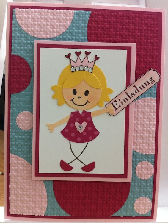 Eine Einladung zu Lea's 6. Geburtstag…