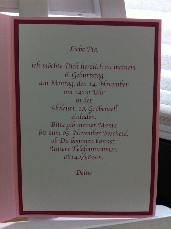 text einladung kindergeburtstag prinzessin – dressbuying, Einladung