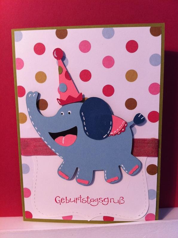 Ein Geburtstagselefant…