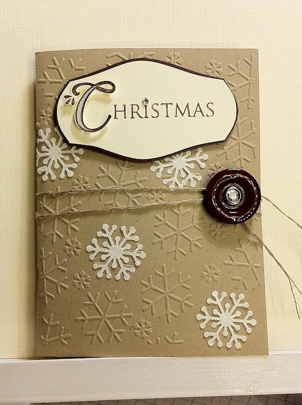Adventskalender 7. Tür – weihnachtliches Minialbum