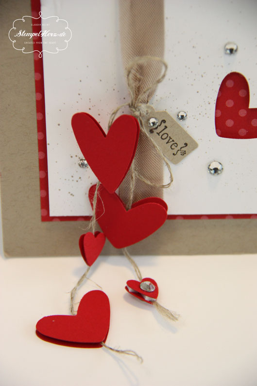 Kreative Elemente zum Valentinstag