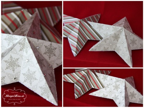 Stampin Up - Weihnachten - Stern - Origamistern.collage