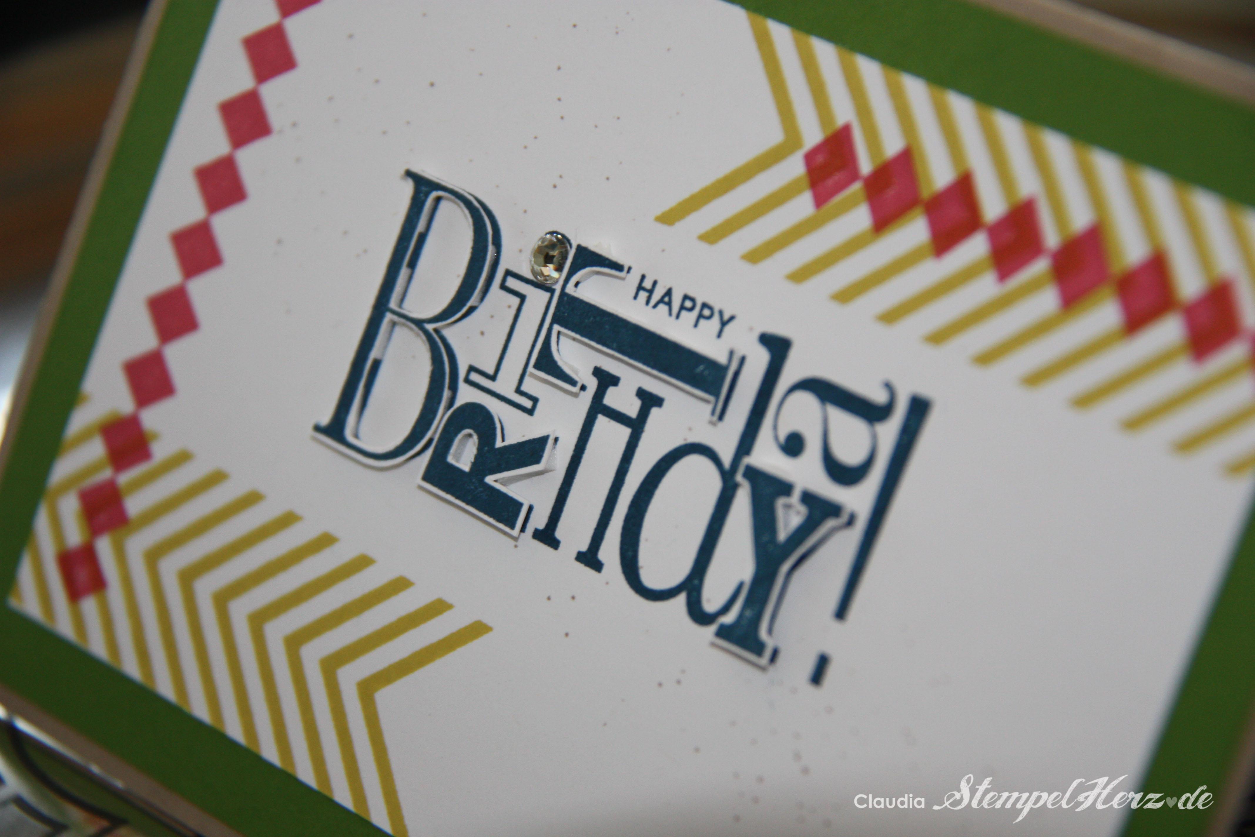 Eine geburtstagskarte f r meinen papa stampin 39 up mit stempelherz - Geburtstagskarte basteln mann ...