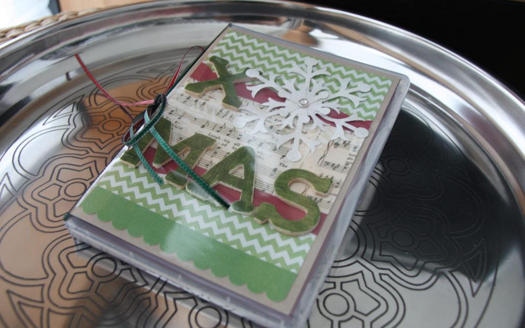 Adventskalender Tür 20 – Ein Minibook in der DVD-Hülle