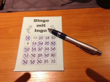 CAR 2013 - Bingo mit Ingo