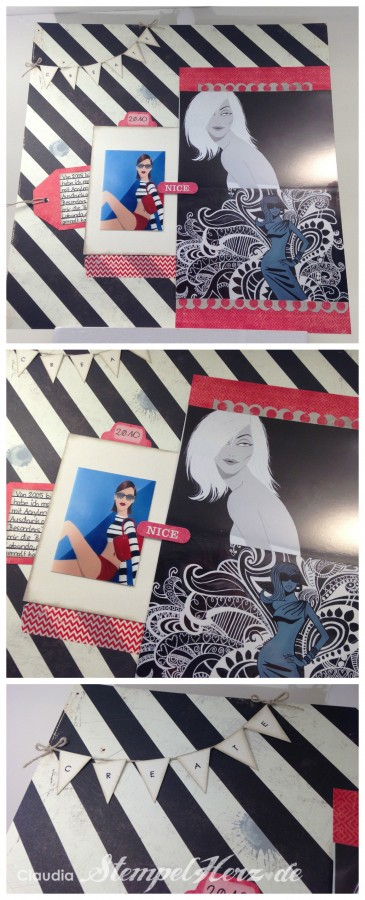 Stempelherz - Layout Create Collage
