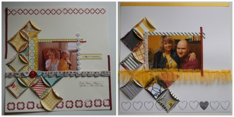 Stampin Up - Sara Clark - Layout Collage