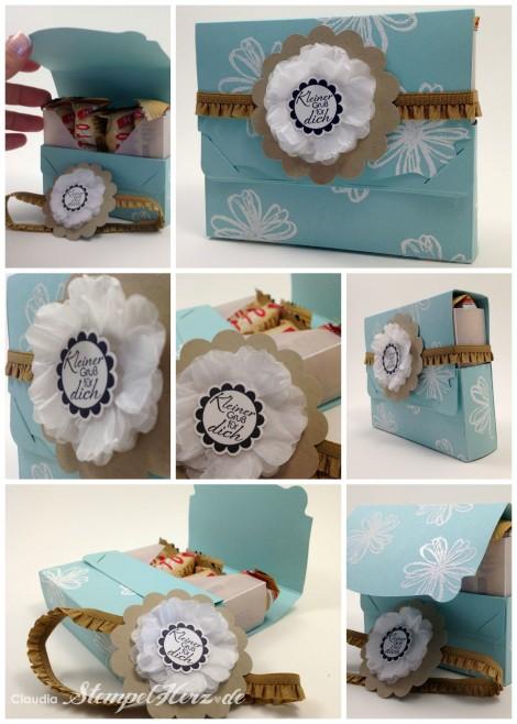 Giotto-Verpackung Kleiner Gruss Collage b