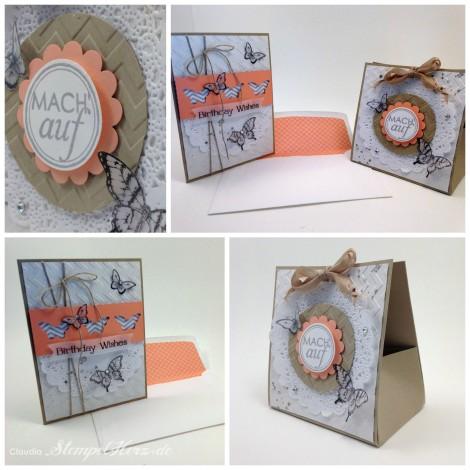 Stampin Up - Stempelherz - Papillon Potpourri - Verpackung - Geburtstagskarte - Set Birthday Wishes Collage b