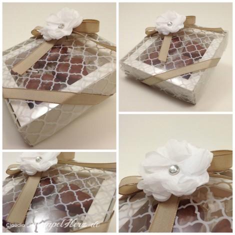 Stampin Up - Stempelherz - Pralinen - Verpackung - Schachtel - Geschenk Collage b