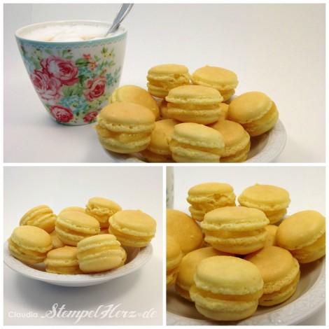 Stempelherz - Macarons Zitrone Collage b