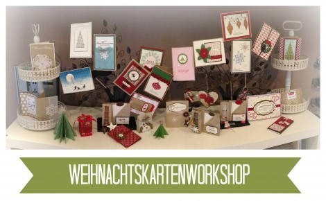 Stampin Up - Stempelherz - Workshop - Weihnachtskarten 01c
