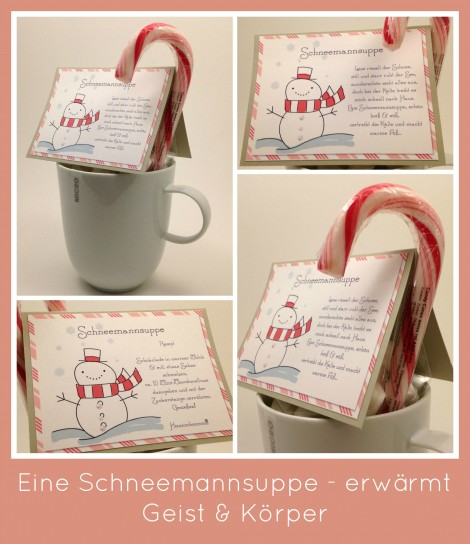 Stampin Up - Stempelherz - MDS - My Digital Studio - Weihnachten - Adventskalender - Schneemannsuppe Collage b