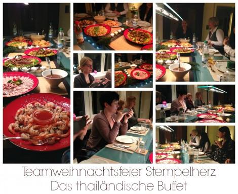 Stampin Up - Stempelherz - Weihnachtsfeier Collage 2