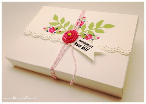 Stampin Up - Stempelherz -  Verpackung - Grußkarte - Geburtstagskarte - Simply Pressed Modellierton - Kind & Cozy - Secret Garden - Kreativ & selbst gemacht - Kartenset Fruehlingsgefuehle 04 Collage