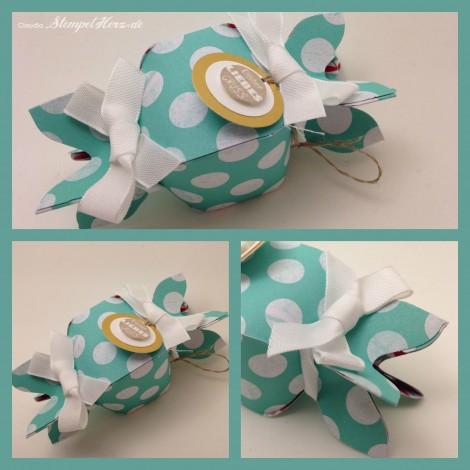 Stampin Up - Stempelherz - Verpackung - Liebesgruß - Designerpapier Frisch & farbenfroh - Knallbonbon Kleiner Liebesgruß Collage b
