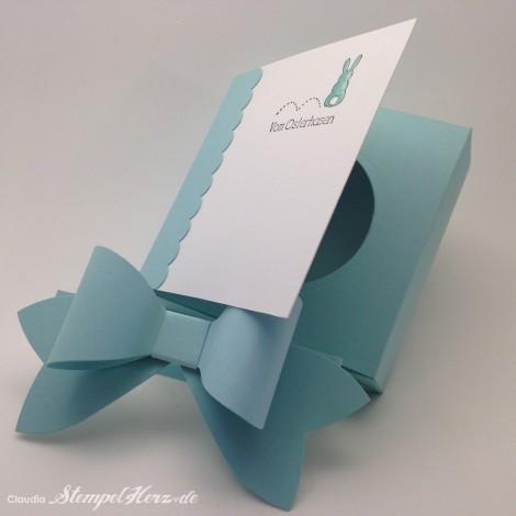 Stampin Up - Stempelherz - Ostern - Kartenbox - Ein schoenes Osterfest - Box vom Osterhasten 03