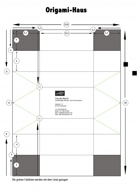 Silhouette Studio Designer Edition: Origamibox Haus.studio