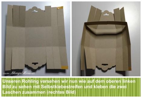 Stampin Up - Stempelherz - Korb - Ostern - Osterkoerbchen Anleitung Collage 07