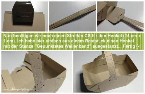 Stampin Up - Stempelherz - Korb - Ostern - Osterkoerbchen Anleitung Collage 10