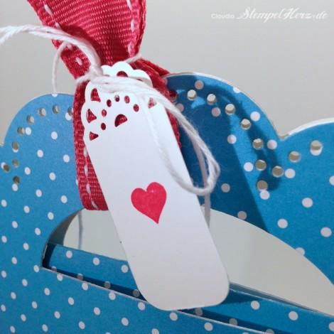 Stampin Up - Stempelherz - Schmuckverpackung - Armband - Geschenk - Glas Cabochon - Naturnah - Schmuckverpackung Wickelarmband 0e
