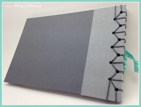 Stampin Up - Stempelherz - Japanische Stabbuchbindung - Stabbuchbindung - Buch binden - Notizbuch 04b
