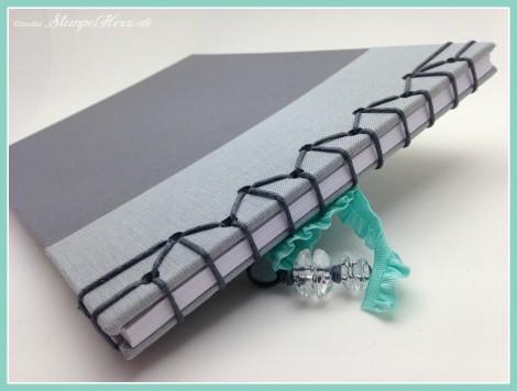Stampin Up - Stempelherz - Japanische Stabbuchbindung - Stabbuchbindung - Buch binden - Notizbuch 05b