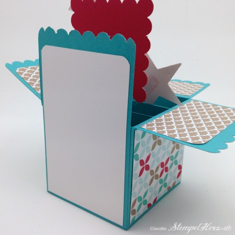 Stampin Up - Stempelherz - Kartenbox - Geburtstagskarte - Kartenset Hip, hip, hurra! - Kartenbox Hip, hip, hurra! 02