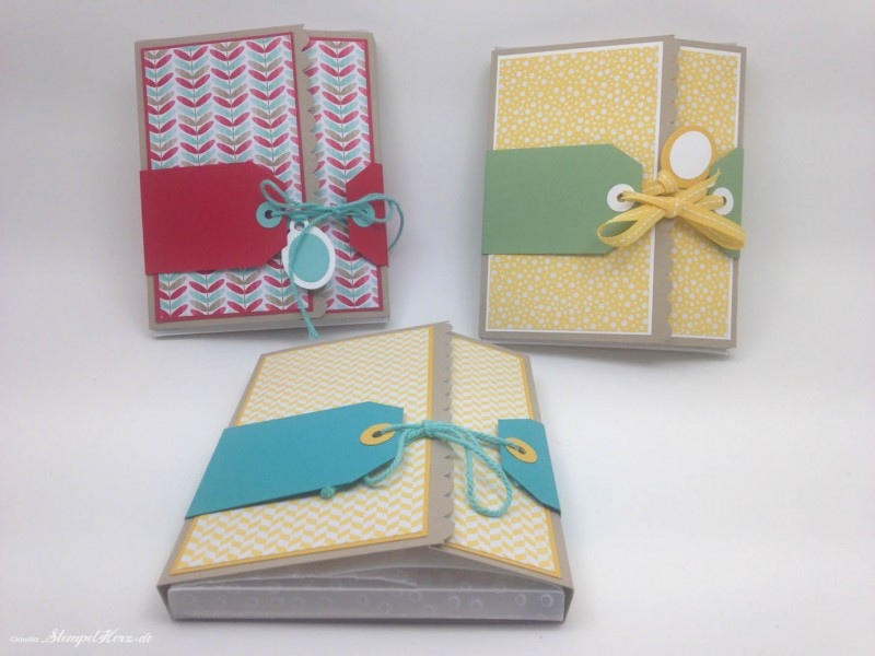 Stampin Up - Stempelherz - Workshop - Minialbum 02