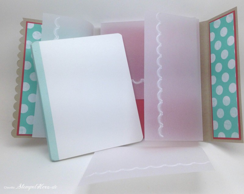 Stampin Up - Stempelherz - Workshop - Minialbum Daniela 05