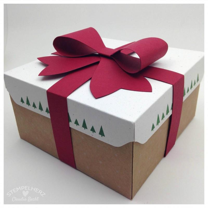 Stampin Up - Stempelherz - Geschenkschachtel