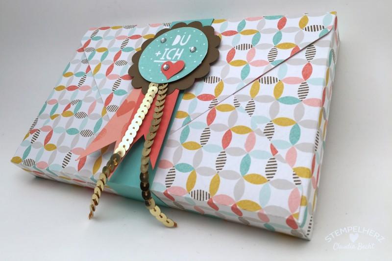 Stampin Up - Stempelherz - Verpackung - Box - Sale-a-bration - Inspiration - Stempelset Wir beide - Envelope-Punchboard - Toffifee-Verpackung Du + Ich 02